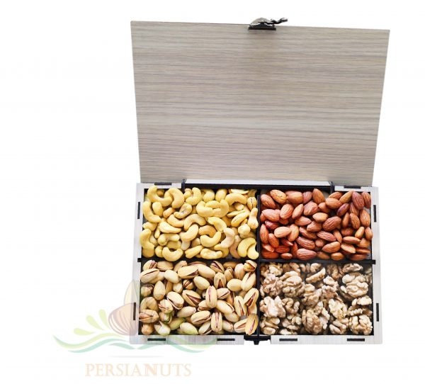 Nuts Box- Cuboid-open